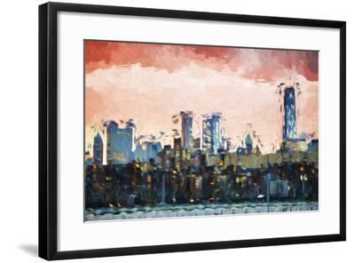 Red Light - In the Style of Oil Painting-Philippe Hugonnard-Framed Giclee Print