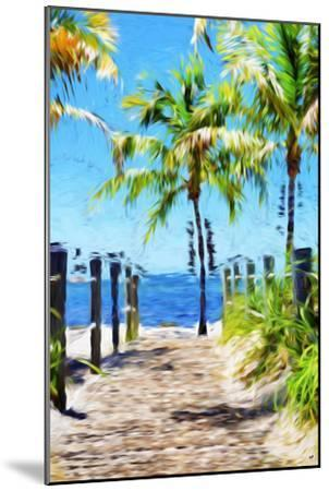 Path to the Beach III - In the Style of Oil Painting-Philippe Hugonnard-Mounted Giclee Print