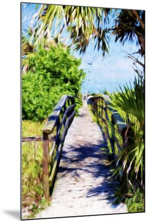 Way to the Beach - In the Style of Oil Painting-Philippe Hugonnard-Mounted Giclee Print
