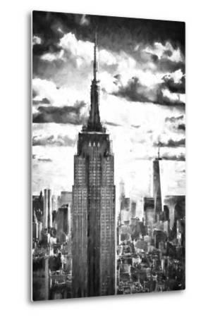 World of Skyscrapers-Philippe Hugonnard-Metal Print
