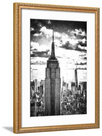 World of Skyscrapers-Philippe Hugonnard-Framed Giclee Print