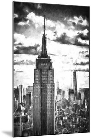 World of Skyscrapers-Philippe Hugonnard-Mounted Giclee Print