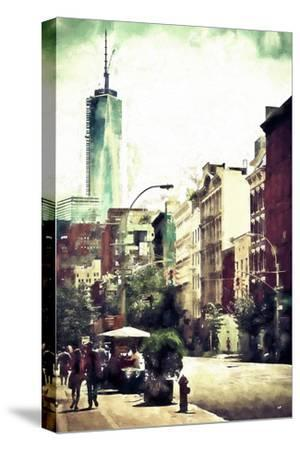 Sunday in Soho-Philippe Hugonnard-Stretched Canvas Print