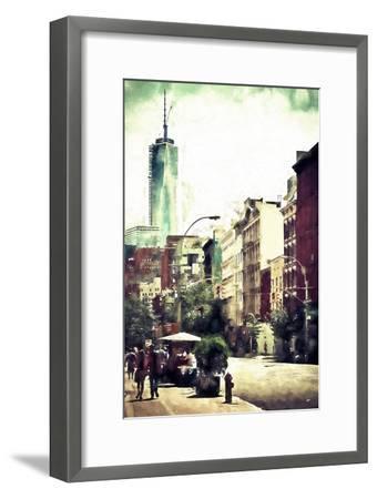 Sunday in Soho-Philippe Hugonnard-Framed Giclee Print