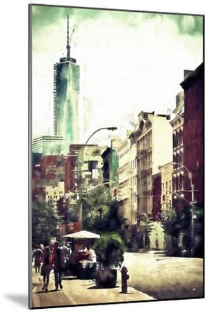 Sunday in Soho-Philippe Hugonnard-Mounted Giclee Print