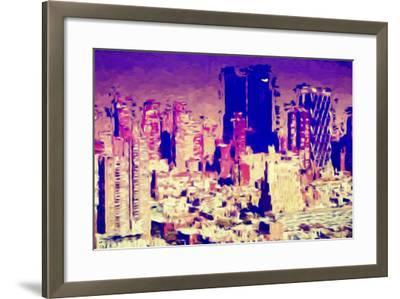 Hot Day - In the Style of Oil Painting-Philippe Hugonnard-Framed Giclee Print