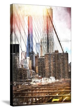 Towers Bridge-Philippe Hugonnard-Stretched Canvas Print