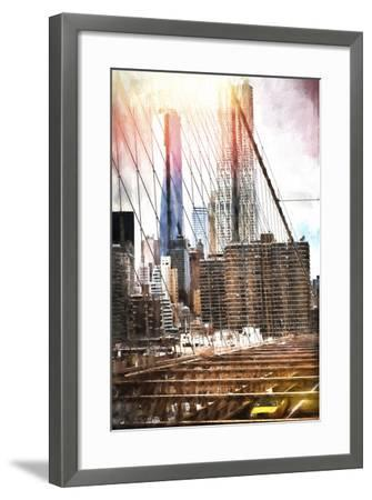 Towers Bridge-Philippe Hugonnard-Framed Giclee Print