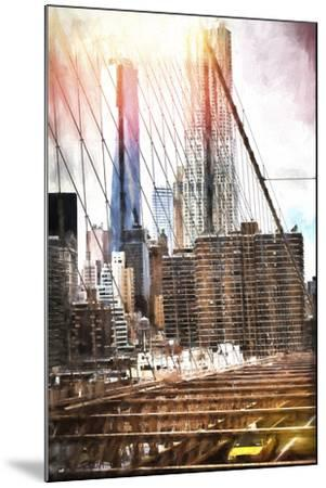Towers Bridge-Philippe Hugonnard-Mounted Giclee Print