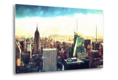 New York Cityscape IV-Philippe Hugonnard-Metal Print
