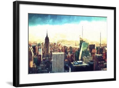 New York Cityscape IV-Philippe Hugonnard-Framed Giclee Print