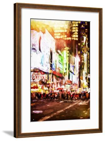 Regal Night - In the Style of Oil Painting-Philippe Hugonnard-Framed Giclee Print