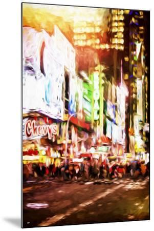 Regal Night - In the Style of Oil Painting-Philippe Hugonnard-Mounted Giclee Print