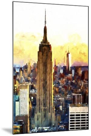 1WTC & Empire State II-Philippe Hugonnard-Mounted Giclee Print