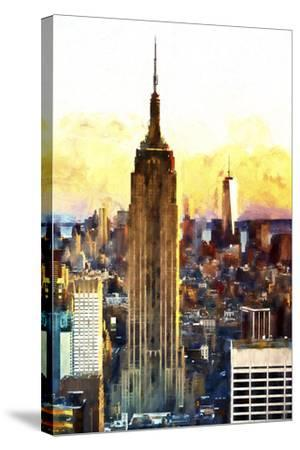 1WTC & Empire State II-Philippe Hugonnard-Stretched Canvas Print