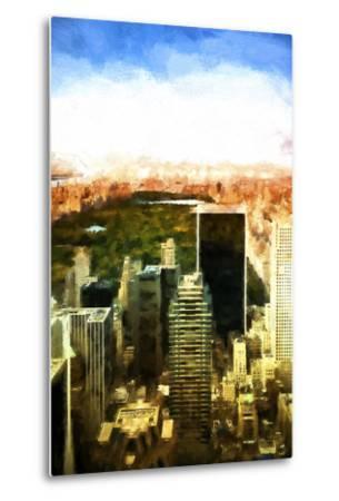 Central Park-Philippe Hugonnard-Metal Print
