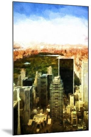 Central Park-Philippe Hugonnard-Mounted Giclee Print