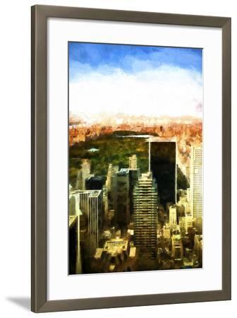 Central Park-Philippe Hugonnard-Framed Giclee Print