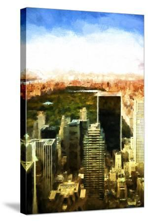 Central Park-Philippe Hugonnard-Stretched Canvas Print