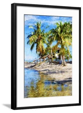 Life Guard Station V - In the Style of Oil Painting-Philippe Hugonnard-Framed Giclee Print