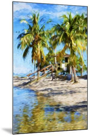 Life Guard Station V - In the Style of Oil Painting-Philippe Hugonnard-Mounted Giclee Print