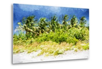 Palm Beach - In the Style of Oil Painting-Philippe Hugonnard-Metal Print