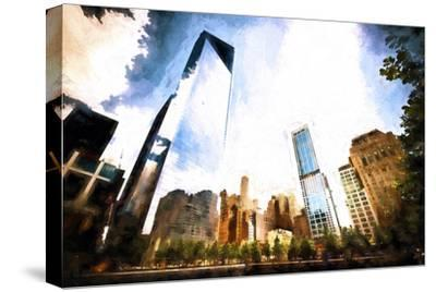 One World Trade Center District-Philippe Hugonnard-Stretched Canvas Print