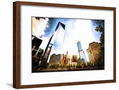 One World Trade Center District-Philippe Hugonnard-Framed Giclee Print
