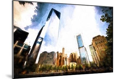 One World Trade Center District-Philippe Hugonnard-Mounted Giclee Print
