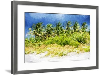 Palm Beach - In the Style of Oil Painting-Philippe Hugonnard-Framed Giclee Print