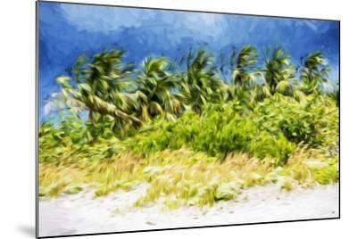 Palm Beach - In the Style of Oil Painting-Philippe Hugonnard-Mounted Giclee Print