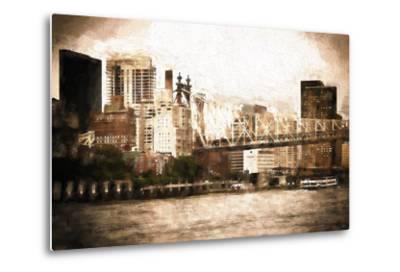 Queensboro Bridge-Philippe Hugonnard-Metal Print