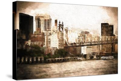 Queensboro Bridge-Philippe Hugonnard-Stretched Canvas Print