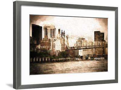 Queensboro Bridge-Philippe Hugonnard-Framed Giclee Print