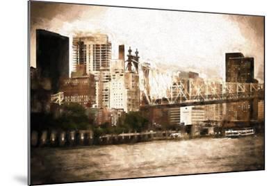 Queensboro Bridge-Philippe Hugonnard-Mounted Giclee Print