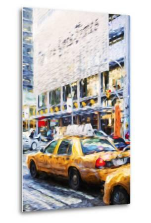 Urban City II - In the Style of Oil Painting-Philippe Hugonnard-Metal Print