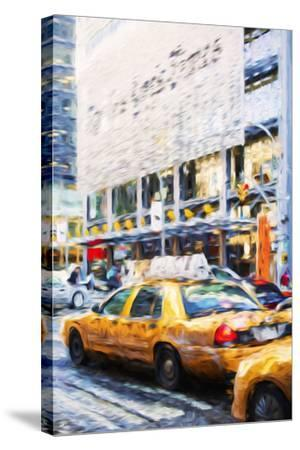 Urban City II - In the Style of Oil Painting-Philippe Hugonnard-Stretched Canvas Print