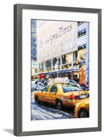 Urban City II - In the Style of Oil Painting-Philippe Hugonnard-Framed Giclee Print