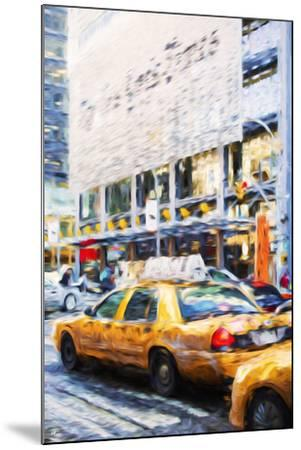 Urban City II - In the Style of Oil Painting-Philippe Hugonnard-Mounted Giclee Print