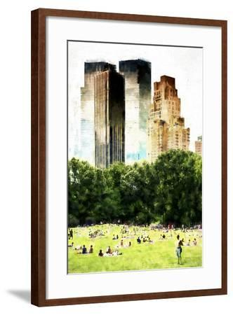 Summer in New York-Philippe Hugonnard-Framed Giclee Print