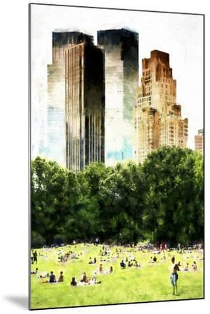 Summer in New York-Philippe Hugonnard-Mounted Giclee Print