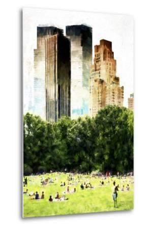 Summer in New York-Philippe Hugonnard-Metal Print