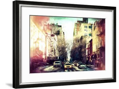Sunrise Colors NYC-Philippe Hugonnard-Framed Giclee Print
