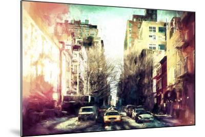 Sunrise Colors NYC-Philippe Hugonnard-Mounted Giclee Print