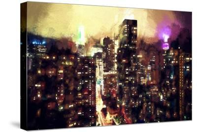 Good Night Manhattan-Philippe Hugonnard-Stretched Canvas Print
