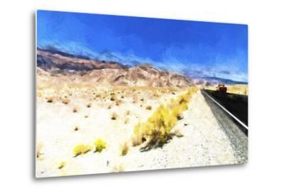 On the Road-Philippe Hugonnard-Metal Print