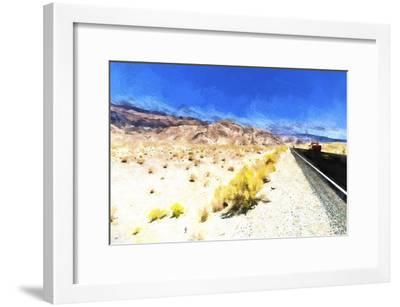 On the Road-Philippe Hugonnard-Framed Giclee Print