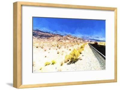 On the Road-Philippe Hugonnard-Framed Giclee Print