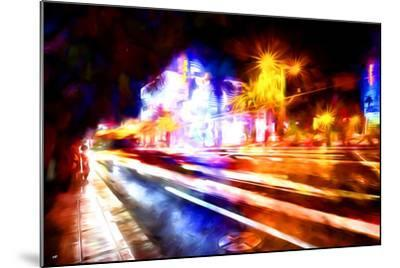 Traffic Light - In the Style of Oil Painting-Philippe Hugonnard-Mounted Giclee Print