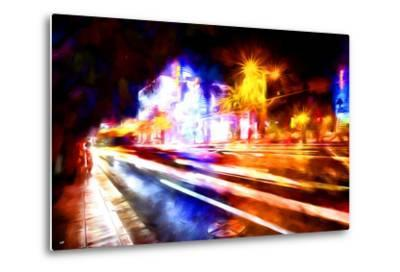 Traffic Light - In the Style of Oil Painting-Philippe Hugonnard-Metal Print